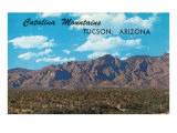 Catalina Mountains  Tucson  Arizona
