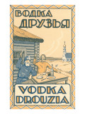 Russian Vodka Advertisement