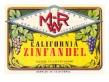 Zinfandel Wine Label