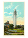 University Campanile  Berkeley  California