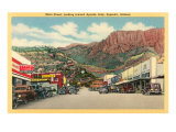 Main Street of Superior  Arizona
