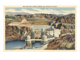 Boulder Dam and Arizona Spillway