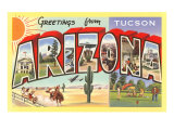 Greetings from Tucson  Arizona