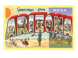 Greetings from Mesa  Arizona