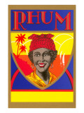 Rhum  Black Woman with Headscarf