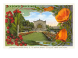 Organ Pavilion  San Diego  Season&#39;s Greetings