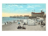 Bath House and Pier  Redondo Beach