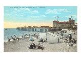 Bath House and Pier  Redondo Beach