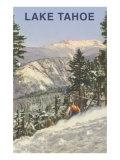 Skier  Lake Tahoe