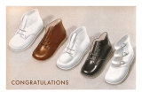 Congratulations  Baby Shoes