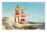 Tandem Surfing  Ventura