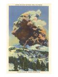 Lassen Volcano Erupting