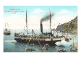 Steamer at Santa Catalina