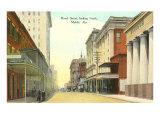 Royal Street  Mobile  Alabama