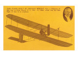 Orville Wright and Kitty Hawk Plane