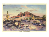 Sunset  Camelback Mountain  Arizona