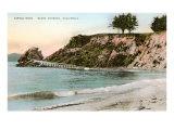 Castle Rock  Santa Barbara  California