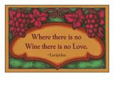 Where there is no Wine  Motto  Art Deco