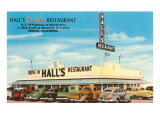 Hall's Restaurant  Fresno  California