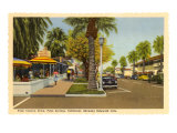 Street in Palm Springs  California