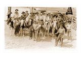 Group of Cowgirls on Horses
