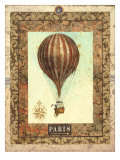 Vintage Hot Air Balloon I