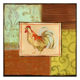 Patchwork Rooster I