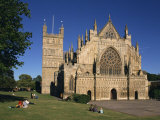 Exeter Cathedral  Exeter  Devon  England  United Kingdom  Europe