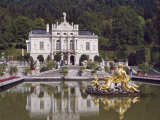 Schloss Linderhof in the Graswang Valley  Built Between 1870 and 1878 for King Ludwig II  Germany