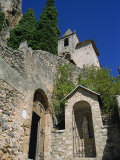 Religious Buildings  Moustiers Ste Marie  Provence  France  Europe