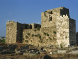 Crusader Fortress  Byblos  Lebanon  Middle East