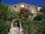 House  Bormes Les Mimosas  Provence  France  Europe