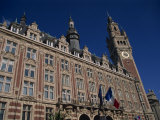 Chamber of Commerce Building in the City of Lille  Nord Pas De Calais  France  Europe