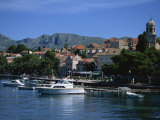 Cavtat Harbour  Dalmatia  Croatia  Europe