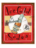 Ice Cold Sodas