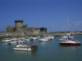 Fort and Harbour  Socoa  Aquitaine  France  Europe