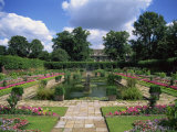 Sunken Garden  Kensington Gardens  London  England  United Kingdom  Europe