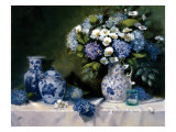 Hydrangeas &amp; Delft