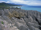 Pancake Rocks  Punakaiki  Paparoa National Park  Westland  New Zealand  Pacific