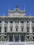 Palacio Real  Built Between 1737 and 1764  by Philip V Which Contains 3000 Rooms  Madrid  Spain