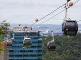 Sentosa Island Cable Cars  Singapore