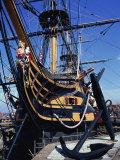 Hms Victory  Portsmouth Dockyard  Portsmouth  Hampshire  England  United Kingdom  Europe