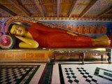Recumbent Buddha in the Isurumuniya Temple  Anuradhapura  Sri Lanka