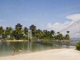 Palawan Beach  Sentosa Island  Singapore  Southeast Asia