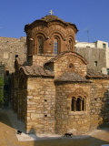 Byzantine Agio Apostoloi Church  Pyrgi  Chios  North Aegean Islands  Greek Islands  Greece