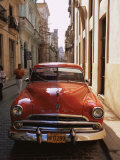 Old Car  Havana  Cuba  West Indies  Central America