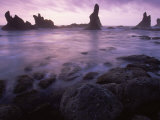 Shi Shi Beach  Olympic National Park  UNESCO World Heritage Site  Washington State  USA