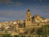 Town Skyline  La Rioja  Calahorra  Castile Leon  Spain  Europe