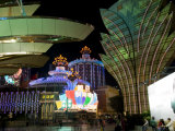 Gran Lisboa Casino at Night  Macau  China