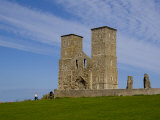 Reculver Towers  Herne Bay  Kent  England  United Kingdom  Europe
